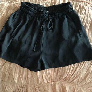 Lush Navy Shorts